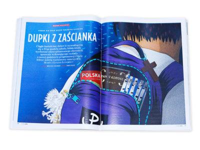 Ilustracja dla Newsweek Polska 2