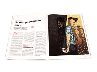 Ilustracja dla Newsweek Polska