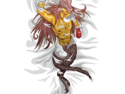 Wereanimals illustrations